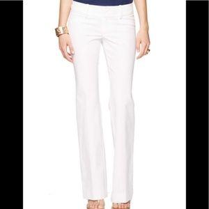 Lilly Pulitzer resort white jet set trouser pants